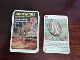 Dinosaurs and Prehistoric Animals Playing Cards