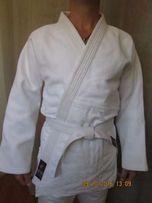 Кимоно для дзюдо джиу джитсу айкидо белое синее кимано кімоно кімано