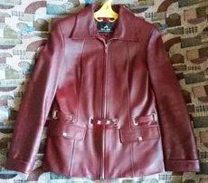 Демисезонная кожаная куртка 44 размер. Кожаный демисезонный пиджак