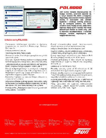 Tester diagnostyczny SUN PDL PDL 8000™ Inteligentna Diagnostyka Bełchatów - image 6