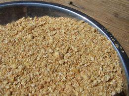 SOJA śruta sojowa oraz makuch sojowy ŁOWICZ białka minimum 46 procent