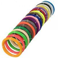 Пластик для 3D ручки PLA 20 цветов 100 метров (1 цвет 5 метров)