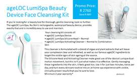 AgeLoc LumiSpa Beauty Device - Facial Cleansing
