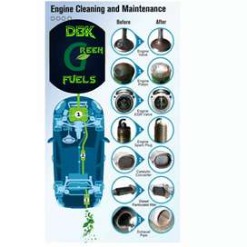 Internal engine cleaning service