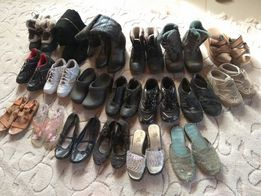 Обувь,сапоги,Кроссовки,туфли,ботинки,р.36,25пар,200грн.за все!