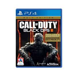 Call of Duty Bo3 Gold Edition