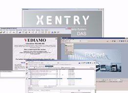 Установка программ Mercedes Xentry OpenShell DAS Vediamo WIS EPC.