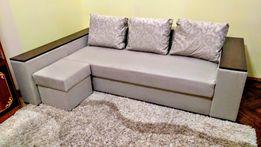 Куток єврокнижка з пуфом, диван, ліжко, кровать