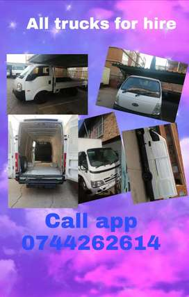 All trucks and van for hire