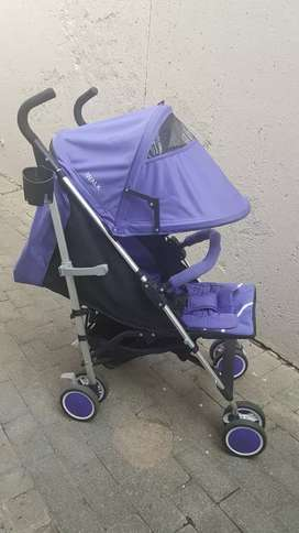 Stroller with extras