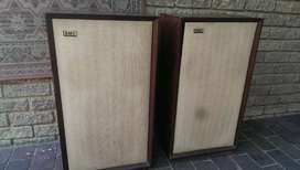 Very rare vintage EMI speakers, Made in England.