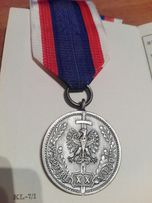 Odznaka srebrna W służbie narodu z1989 r.
