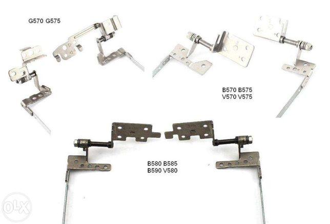 Петли Lenovo G570AH G570GL G575; B570 B575 V570; B580 B585 B590 V580C Николаев - изображение 1