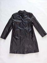 Marks&Spencer * płaszcz skórzany r. 40