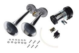 Sygnał dźwiękowy ze sprężarką 12V tuba metal