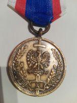 Odznaka brązowa W służbie narodu.