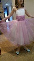 Нарядное платье для девочки от 6-ти лет