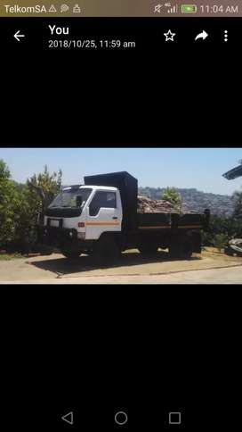 A4 ton tipper truck for hire