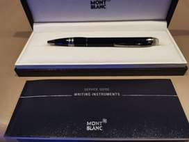 Mont Blanc, Starwalker Midnight Black, Brand New