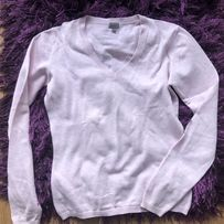 Różowy sweterek S