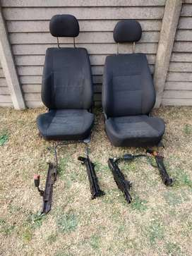 Opel corsa seats with rails
