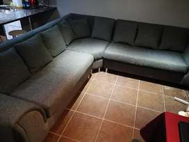 7 seater L Couch