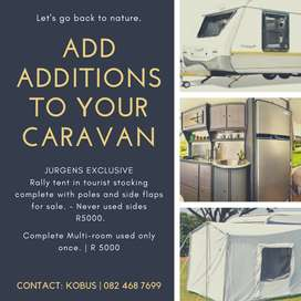 ADD ADDITIONS TO YOUR CARAVAN