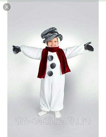 Прокат аренда костюм снеговика