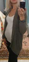 Кардиган кофта накидка для беременных