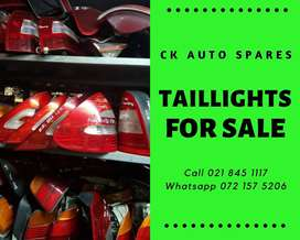 Taillights for sale for most vehicle make and models