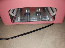 УФ лампа для гель лака 818 Global Fashion 36 w розовая