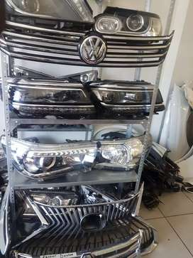 VW AND BMW HEADLIGHTS AND GRILLS
