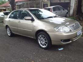 2006 Toyota corola Sprint 1.6 leather seat
