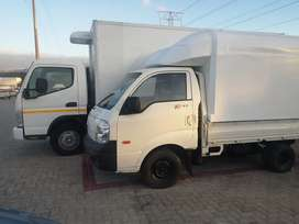 Furniture removal, transport and refrigerator trucks for hire