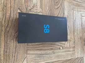Samsung S8 64gb Orchid Grey in brand new condition