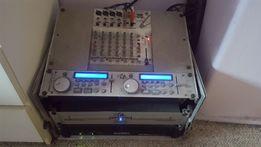 Sprzęt nagłośnieniowy, wzmacniacz, głośniki, mixer, odtwarzacz,imprezy