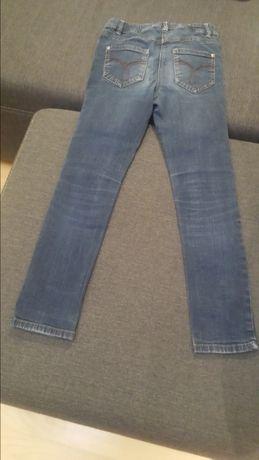 Spodnie dżinsy dziewczęce 134 cm Lubin - image 4
