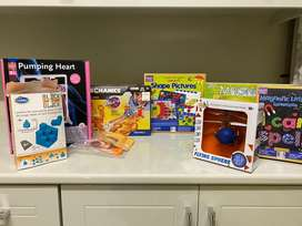 Educational toys for kids 7 years +