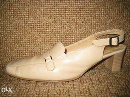 buty damskie kremowe