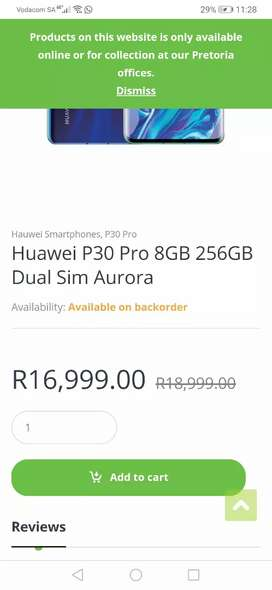 Huawei P30 pro for sale 256gb