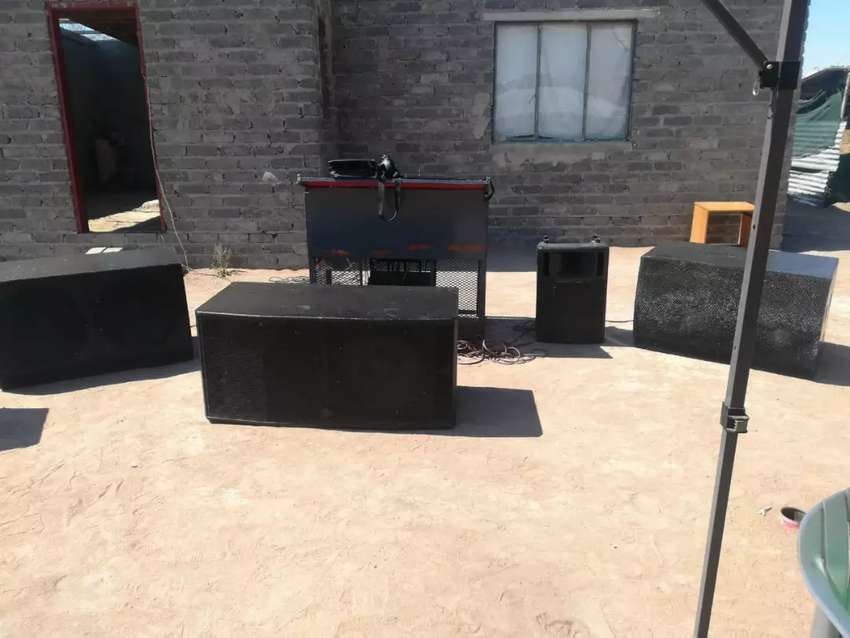 Sound system for hire 0
