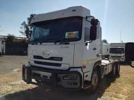 NISSAN UD26-450 QUONN TRUCK TRACTOR WITH HYDRAULICS