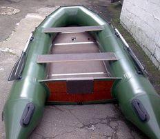 лодка надувная килевая