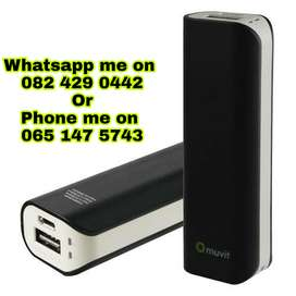 Muvit 2600mah Compact Power Bank for sale