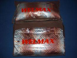 Kołdra i poduszka firmy WELMAX CAMEL