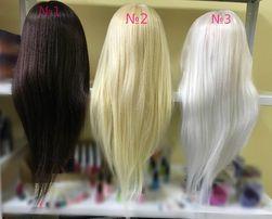 ТЕРМО (70%) Болванка учебная манекен учебный голова для парикмахеров.