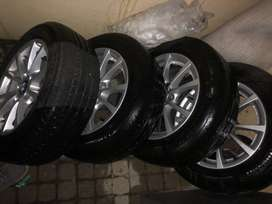 BMW 16 inch Run Flats with rims included