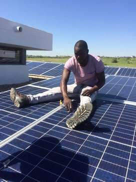 Seeking for a job as Solar installer, driving, plumbing, electricaian,