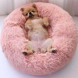 Pet fluffy bed