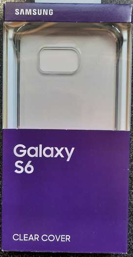 Samsung Galaxy S6 Clear Protective Cover